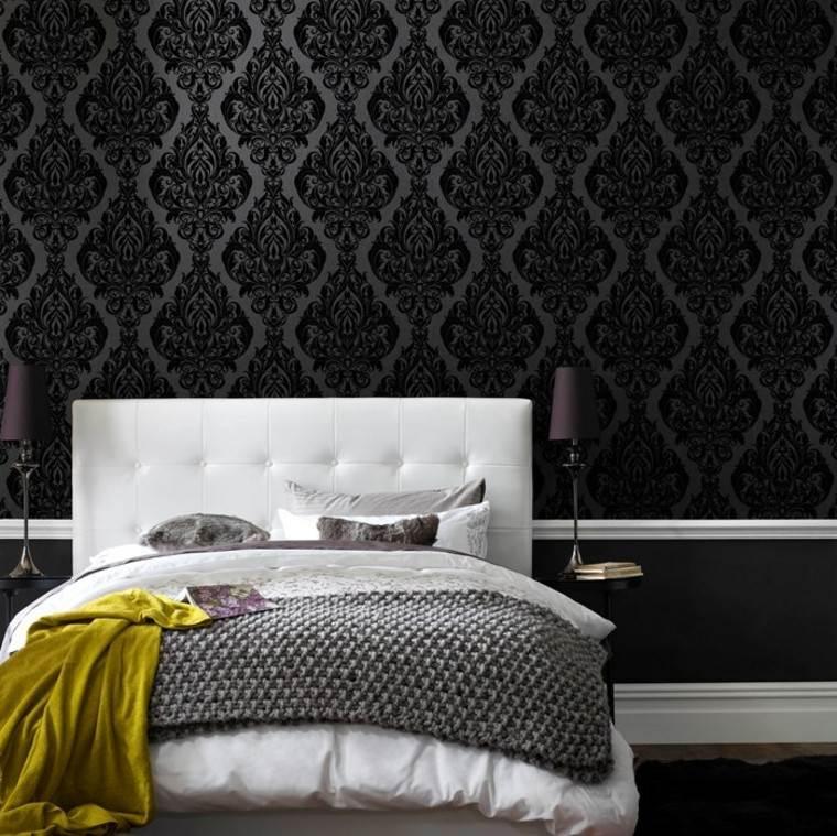 Barroco para el dise o del papel de pared muy distintivo for Papel pared dormitorio