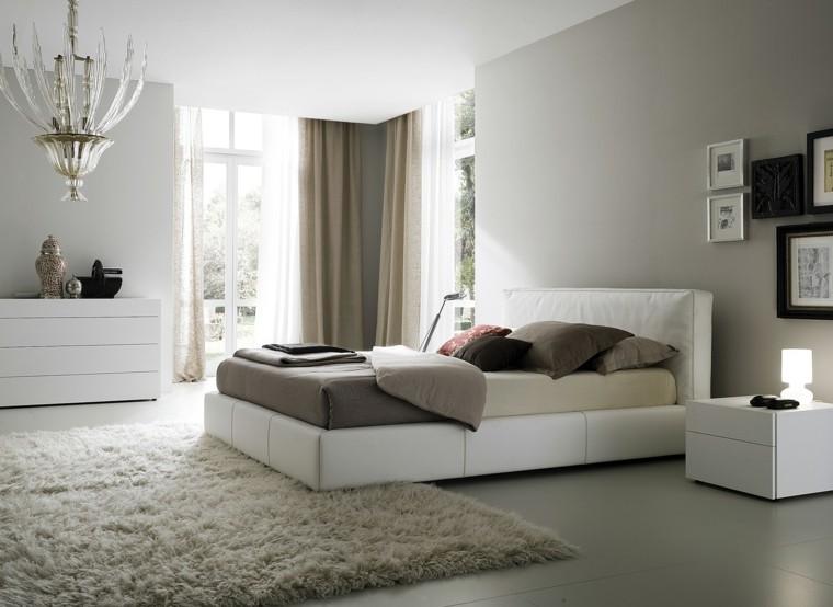 dormitorios alfombra cojines urna cuadros