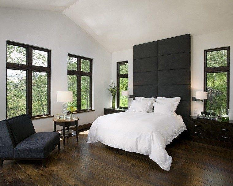 dormitorios diseño alto decorativo acolchonado