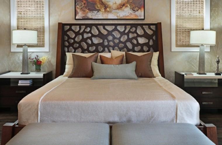 dormitorios diseño cabecera decorado estilo