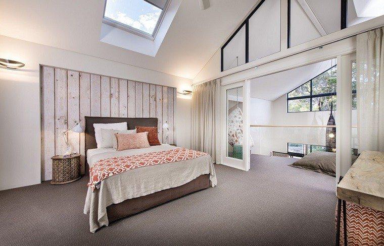 dormitorios diseño interesante calido madera