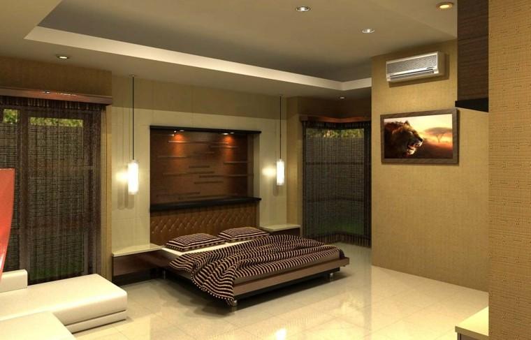 dormitorios lamparas colgantes moderno iliminacion