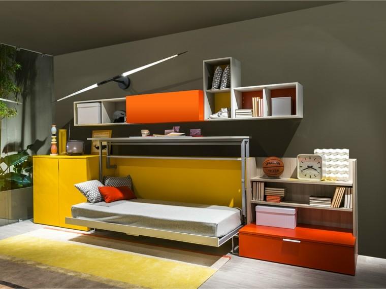 Dormitorios modernos y divertidos para los adolescentes Dormitorios adolescentes