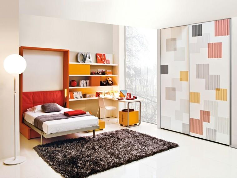Dormitorios modernos y divertidos para los adolescentes