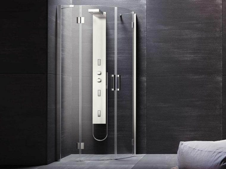 Duchas de obra cincuenta ideas estupendas Revestimiento de paredes para duchas
