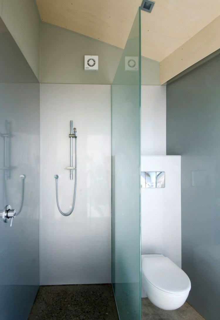 cabina ducha pequeña mampara aseo