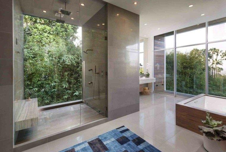 duchas de obra vistas jardin
