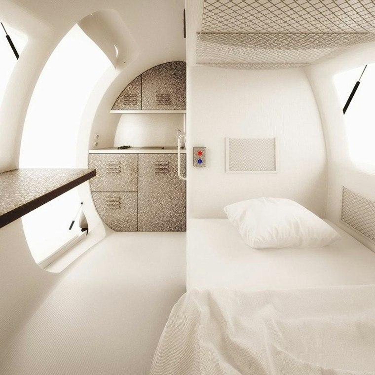 eco capsula dentro cama lavabo gris ideas