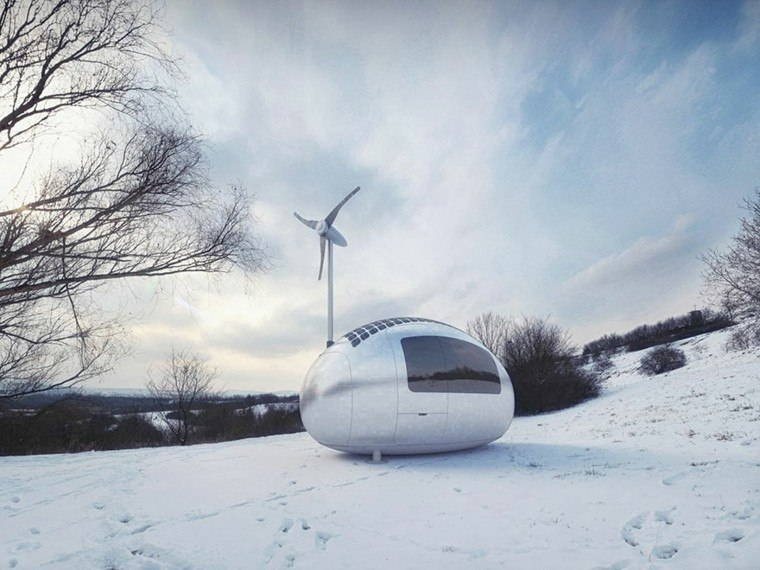 capsula invierno frio nieve ideas tecnologia
