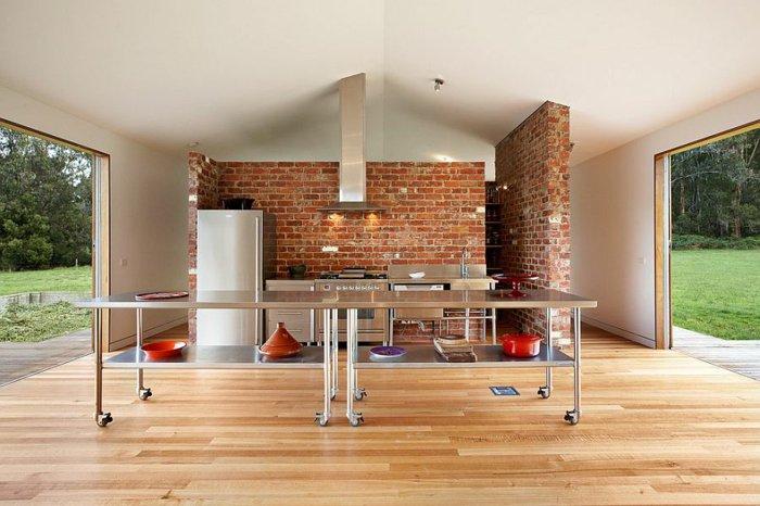 electrodomesticos cocina aspecto industrial abierta