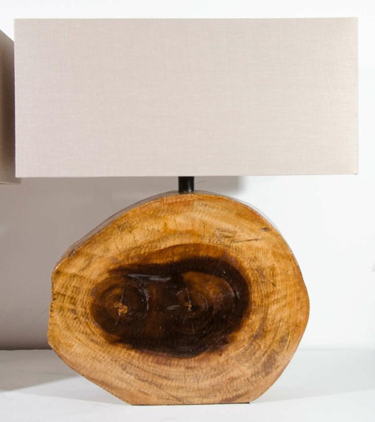 elegante cuarto tronco madera perdonalizada