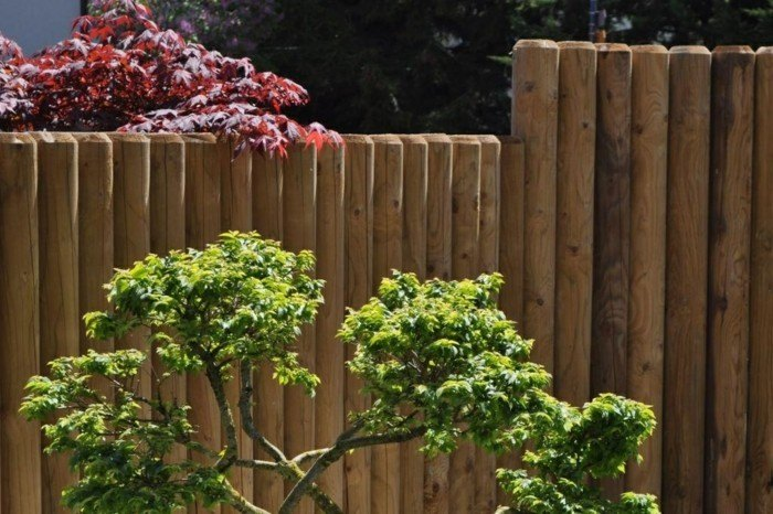 empalizado moderno bonita madera