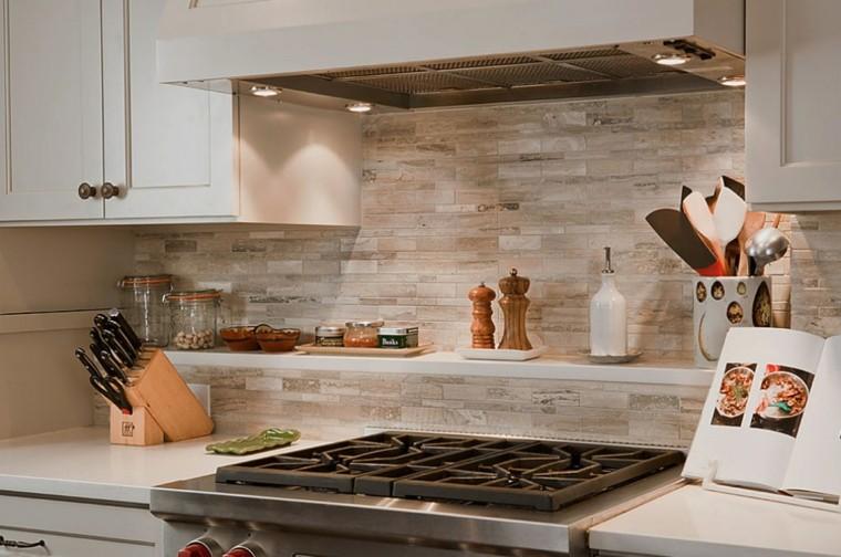 Encimeras de cocina granito m rmol madera para elegir - Cocinas de marmol ...