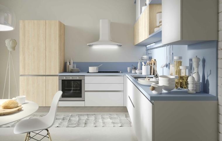 Gabinetes De Cocina Azules ~ Gormondo.com = Inspirador y Elegante ...