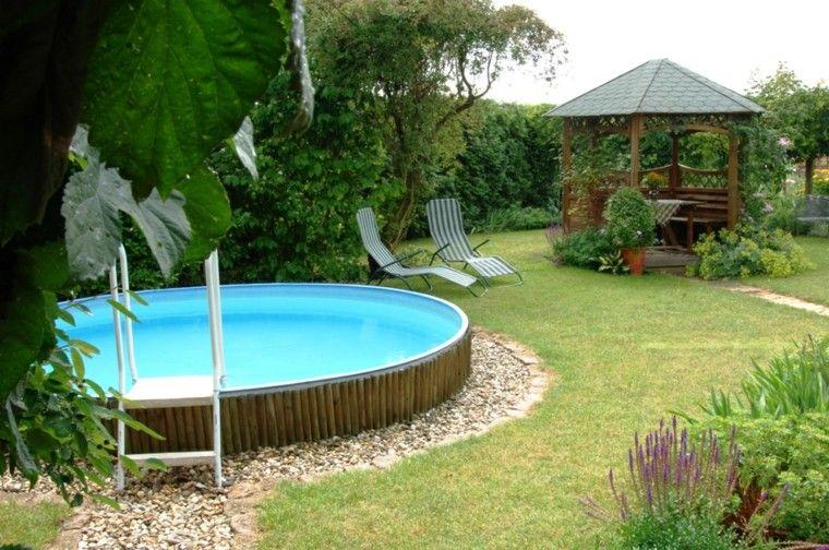 Piscinas dise o y consejos antes de su montaje en casa for Estructura para piscina