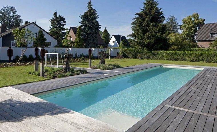 sculptures corten steel lawn swimming pool