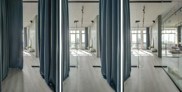 Paredes dise o y funcionalidad creaci n de 2b group - Cortinas para pasillos ...