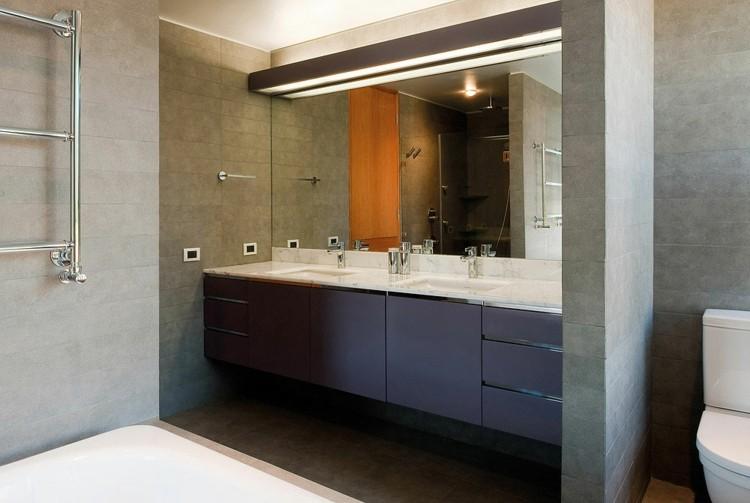 espejos iluminacion alargado alto mueble