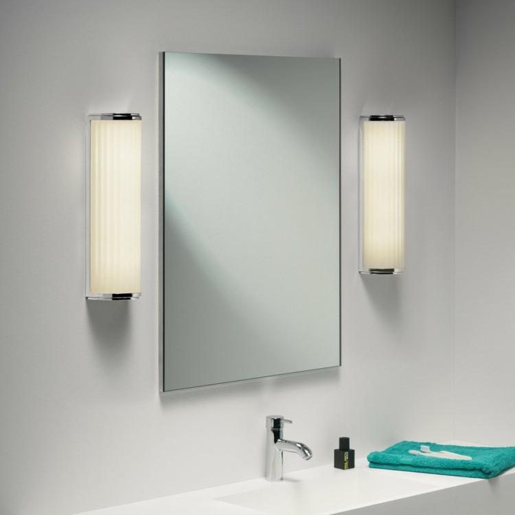 Espejos iluminacion y estilo en 50 incre bles propuestas - Apliques de bano para espejos ...