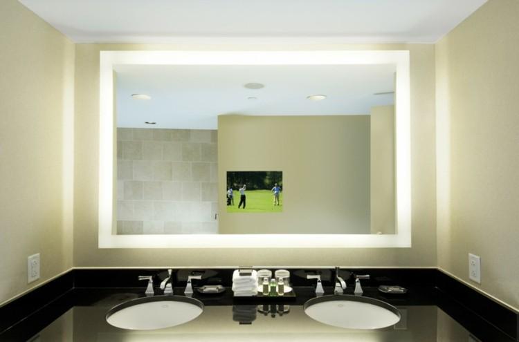 espejos iluminacion electrico silueta lavabo