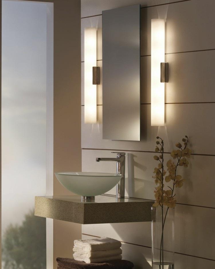 espejos iluminacion laterales luces vertical