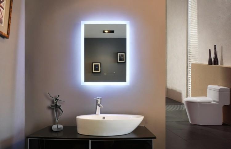 Iluminacion Baño Led:Espejos iluminacion y estilo en 50 increíbles propuestas