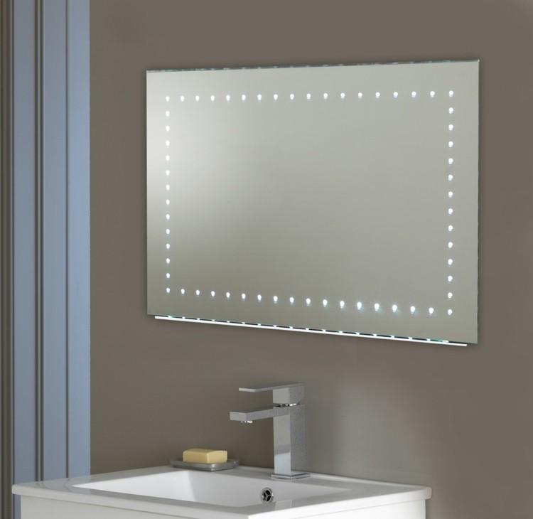 espejos iluminacion lenta led metal