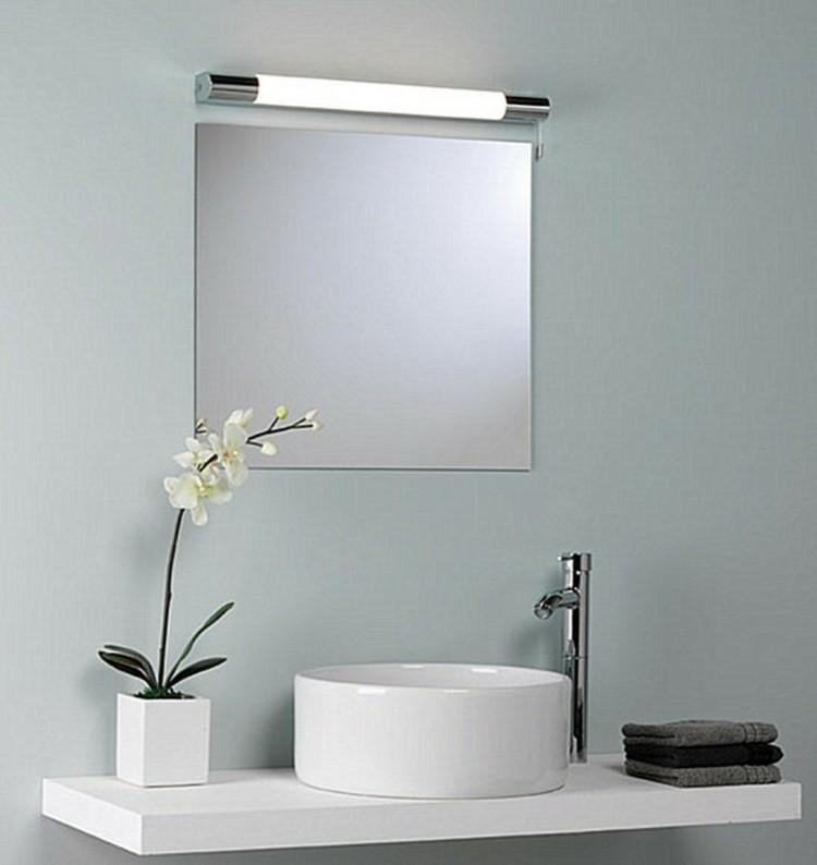 espejos iluminacion planta flor elegante