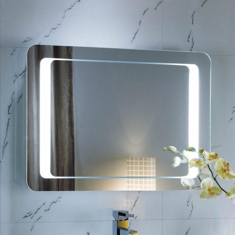 espejos iluminacion sensor contacto plantas
