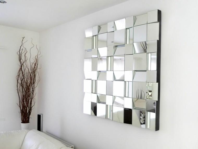 espejo estilo interesante ramas secas
