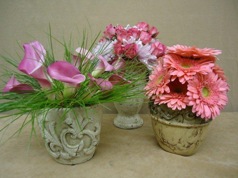 espigas hirbas contorno flores decorativo