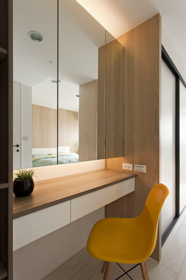 Interiores minimalistas 2 ideas de dise o asiatico for Espejo grande dormitorio