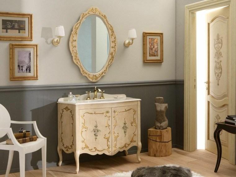 estilo veneciano decoracion muebles bano lujo ideas