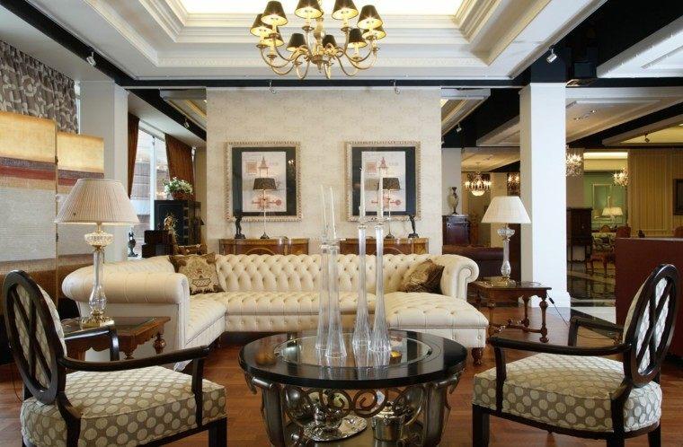estilo victoriano salon moderno bonito ideas