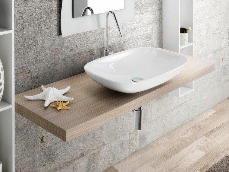 Ideas Para Decorar El Techo Del Baño:Ideas originales para colgar las toallas en el baño moderno