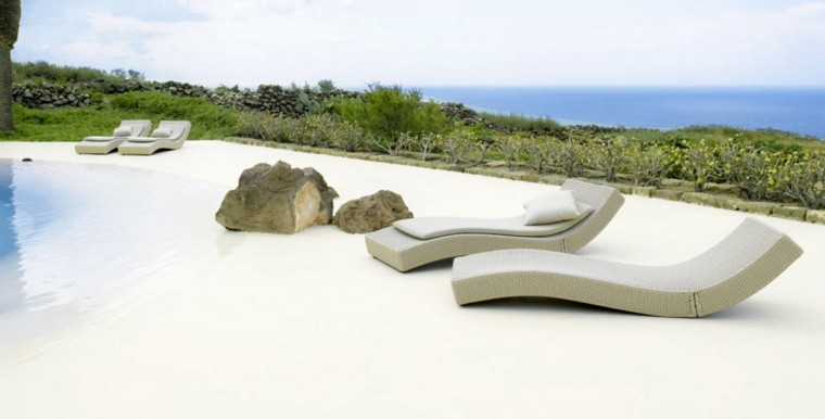 diseño piscina simil playa