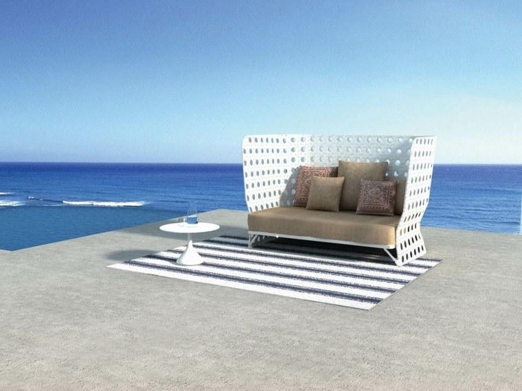estupendo sillon moderno terraza vistas