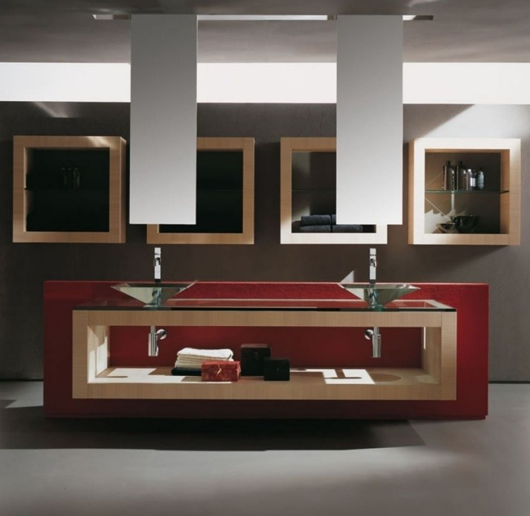 estupendos lavabos diseo moderno vidrio