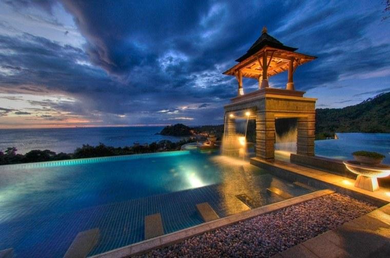 fantastico diseño vistas piscina