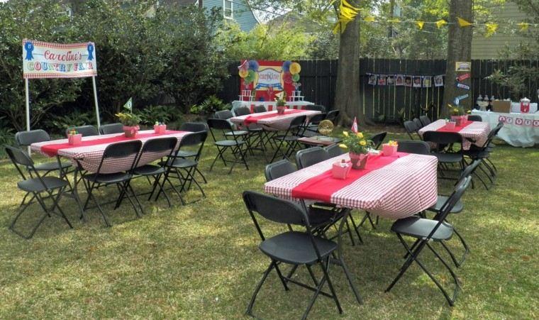 fiesta infantil jardin decoracion