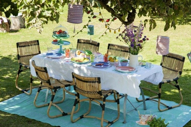 Party en el jard n 50 ideas para decorados de fiestas for Decoracion xv anos en jardin