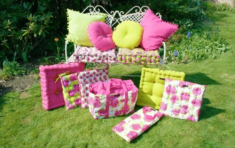 florales verde cesped rosa cesped