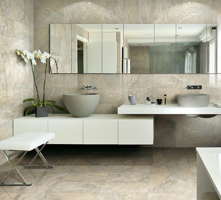 foto azulejos baño modelo impero
