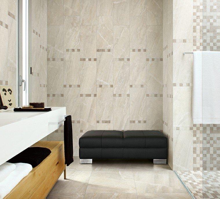 Azulejos para ba os modernos cien ideas geniales for Modelos de cuartos de bano