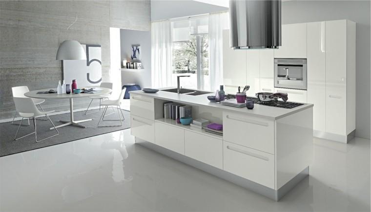 fotos de cocinas abiertas mobiliario abierta
