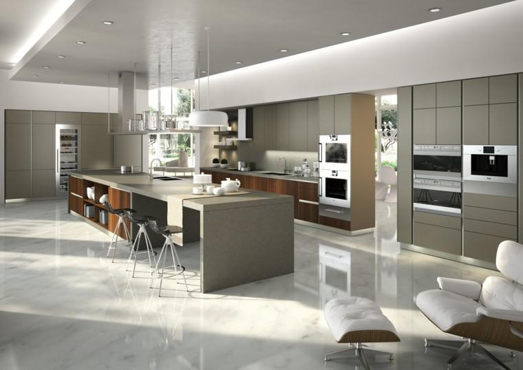 Fotos de cocinas modernas 75 variantes en tendencias for Cocinas italianas modernas