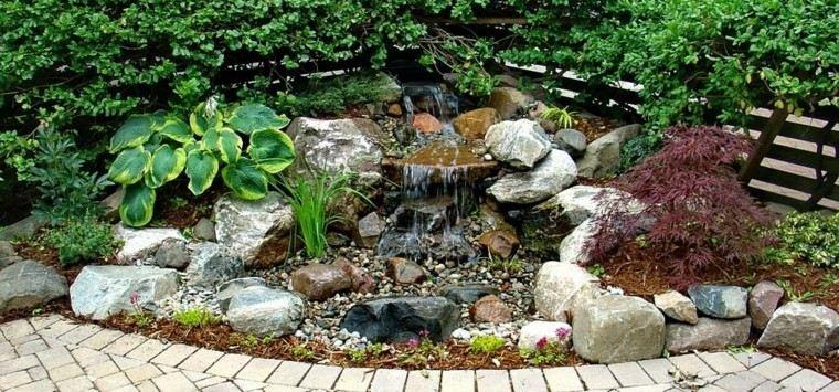 imagenes de fuentes y cascadas para jardin imagui