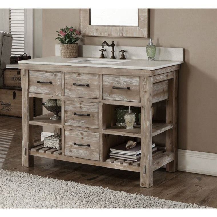 funcional mueble bano tradicional
