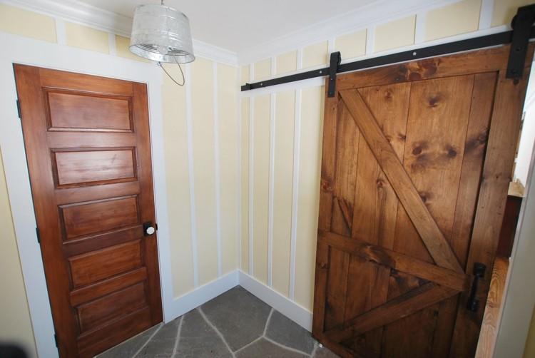 Puerta corredera - 50 modelos para un espacio funcional.