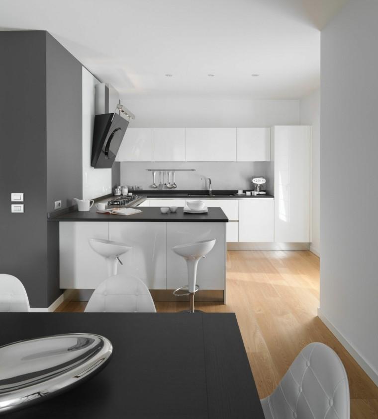gris estantes estilo cocina suelo